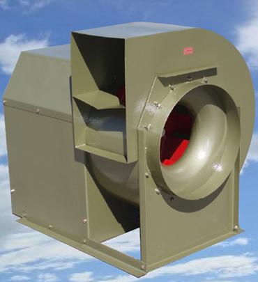 Extractor de aire industrial usado