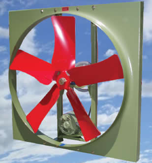 Atc Belt Drive Propeller Wall Fan